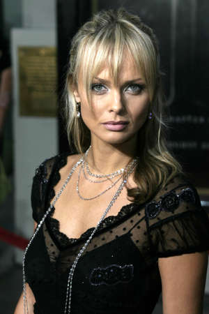 exorcist: Izabella Scorupco at the Los Angeles premiere of Exorcist: The Beginning held at the Graumans Chinese Theatre in Hollywood, USA on August 18, 2004. Editorial