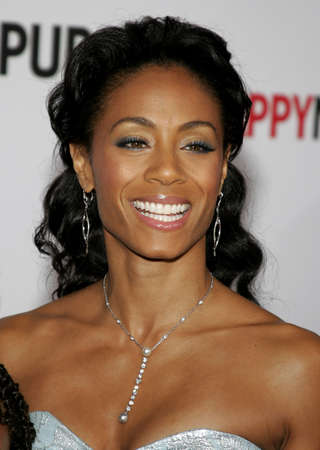 Jada Pinkett Smith at the Los Angeles premiere of The Pursuit of Happyness held at the Mann Village Theater in Westwood, USA on December 7, 2006. Editorial