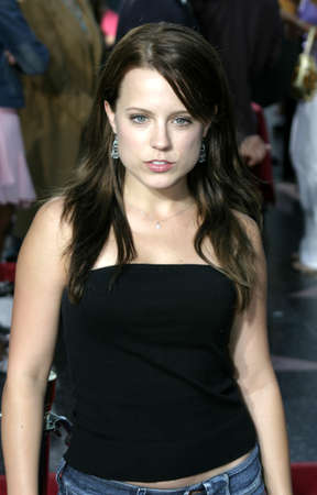 exorcist: Allison Munn at the Los Angeles premiere of Exorcist: The Beginning held at the Graumans Chinese Theatre in Hollywood, USA on August 18, 2004.