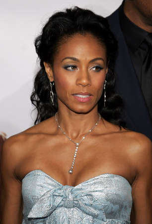 happyness: Jada Pinkett Smith at the Los Angeles premiere of The Pursuit of Happyness held at the Mann Village Theater in Westwood, USA on December 7, 2006. Editorial