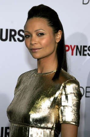 happyness: Thandie Newton at the Los Angeles premiere of The Pursuit of Happyness held at the Mann Village Theater in Westwood, USA on December 7, 2006.