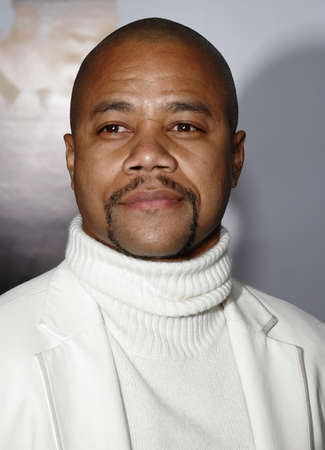 happyness: Cuba Gooding Jr. at the Los Angeles premiere of The Pursuit of Happyness held at the Mann Village Theater in Westwood, USA on December 7, 2006. Editorial