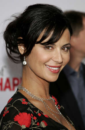 happyness: Catherine Bell at the Los Angeles premiere of The Pursuit of Happyness held at the Mann Village Theater in Westwood, USA on December 7, 2006.