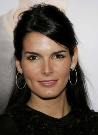 happyness: Angie Harmon at the Los Angeles premiere of The Pursuit of Happyness held at the Mann Village Theater in Westwood, USA on December 7, 2006.