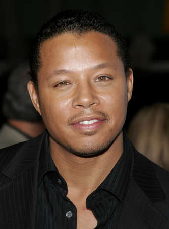 Terrence Howard at the Los Angeles premiere of The Pursuit of Happyness held at the Mann Village Theater in Westwood, USA on December 7, 2006.