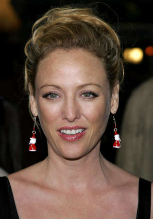 Virginia Madsen at the Los Angeles premiere of The Pursuit of Happyness held at the Mann Village Theater in Westwood, USA on December 7, 2006.