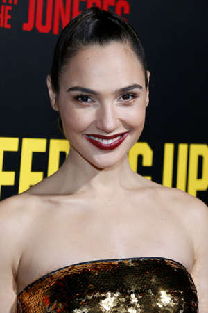 gal: Gal Gadot at the Los Angeles premiere of 'Keeping Up With The Joneses' held at the Fox Studios in Los Angeles, USA on October 8, 2016. Editorial