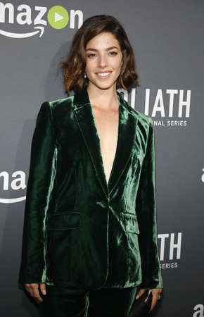 west hollywood: Olivia Thirlby at the Los Angeles premiere of Amazons Goliath held at the London Hotel in West Hollywood, USA on September 29, 2016. Editorial