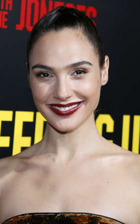 Gal Gadot at the Los Angeles premiere of 'Keeping Up With The Joneses' held at the Fox Studios in Los Angeles, USA on October 8, 2016. Editorial