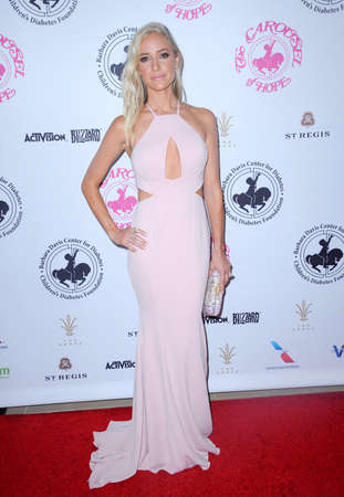 Kristin Cavallari at the 2016 Carousel Of Hope Ball held at the Beverly Hilton Hotel in Beverly Hills, USA on October 8, 2016.