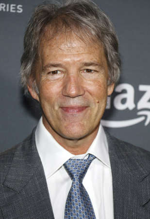 david and goliath: David E. Kelley at the Los Angeles premiere of Amazons Goliath held at the London Hotel in West Hollywood, USA on September 29, 2016.