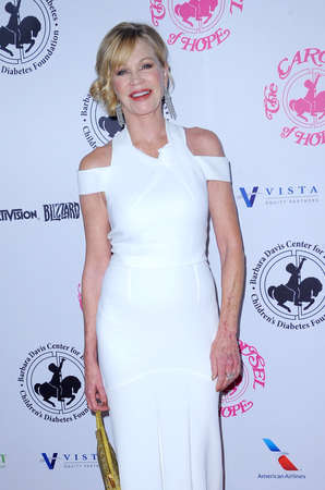 Melanie Griffith at the 2016 Carousel Of Hope Ball held at the Beverly Hilton Hotel in Beverly Hills, USA on October 8, 2016. Editorial