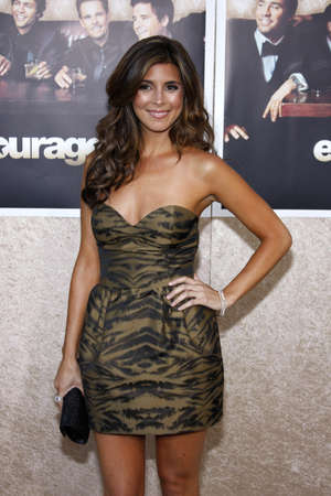 Jamie-Lynn Sigler at the HBOs Entourage season 6 premiere held at the Paramount Studios Lot in Hollywood, USA on July 9, 2009. Editorial