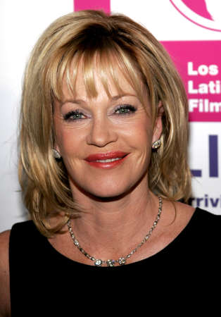 Melanie Griffith at the LALIFF Gabi Awards Honoring Antonio Banderas held at the Egyptian Theatre in Hollywood, USA on October 14, 2006.
