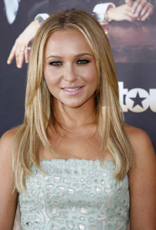 hayden: Hayden Panettiere at the HBOs Official premiere of Entourage Season 6 held at the Paramount Pictures Studios in Hollywood, USA on July 9, 2009.