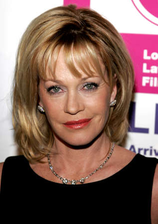 Melanie Griffith at the LALIFF Gabi Award Gala Honoring Antonio Banderas held at the Egyptian Theatre in Hollywood, California, United States on October 14, 2006. Editorial