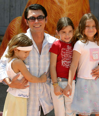 Lou Diamond Phillips at the Los Angeles premiere of 'Garfield: The Movie' held at the Zanuck Theater in Los Angeles, USA on June 6, 2004. Editorial