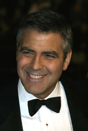 George Clooney at the Los Angeles premiere of