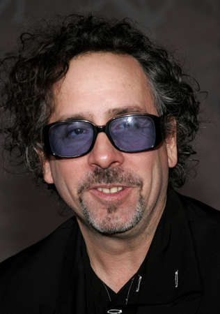 hollywood christmas: Tim Burton at the World premiere of The Nightmare Before Christmas 3D held at the El Capitan Theatre in Hollywood, California, United States on October 16, 2006. Editorial