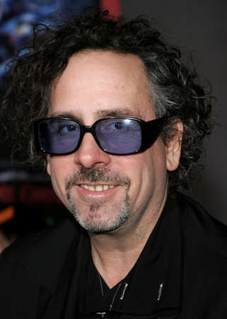 Tim Burton at the World premiere of The Nightmare Before Christmas 3D held at the El Capitan Theatre in Hollywood, California, United States on October 16, 2006. Editorial