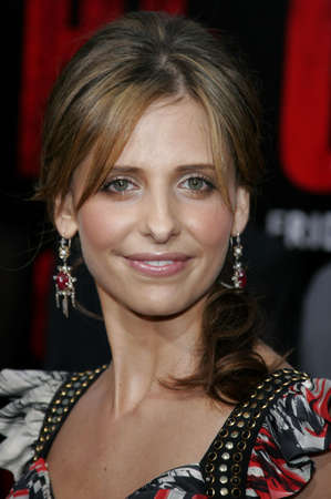 Sarah Michelle Gellar at the World premiere of The Grudge 2 held at the Knotts Berry Farm in Buena Park, USA on October 8, 2006. Editorial