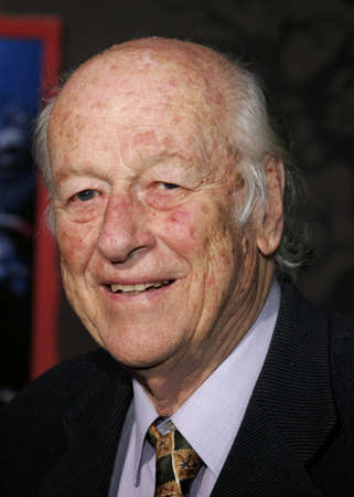 hollywood christmas: Ray Harryhausen at the World premiere of The Nightmare Before Christmas 3D held at the El Capitan Theatre in Hollywood, USA on October 16, 2006.