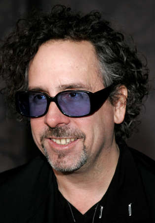 hollywood christmas: Tim Burton at the World premiere of The Nightmare Before Christmas 3D held at the El Capitan Theatre in Hollywood, USA on October 16, 2006.