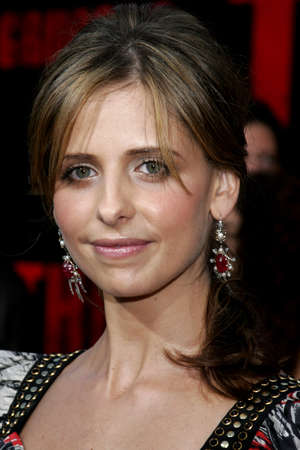 grudge: Sarah Michelle Gellar at the World Premiere of The Grudge 2 held at the Knotts Berry Farm in Buena Park, USA on October 8, 2006.