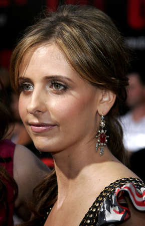 grudge: Sarah Michelle Gellar at the World premiere of The Grudge 2 held at the Knotts Berry Farm in Buena Park, California, United States on October 6, 2006.