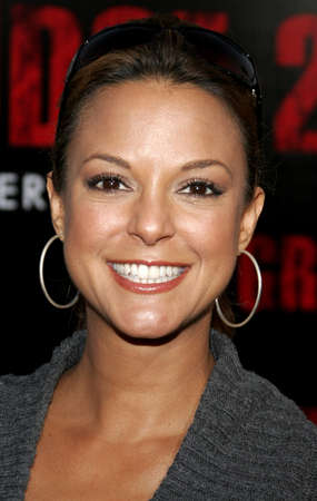 grudge: Eva LaRue at the World premiere of The Grudge 2 held at the Knotts Berry Farm in Buena Park, California, United States on October 6, 2006.