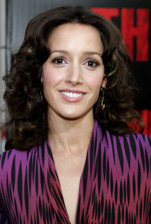 grudge: Jennifer Beals at the World premiere of The Grudge 2 held at the Knotts Berry Farm in Buena Park, USA on October 8, 2006. Editorial