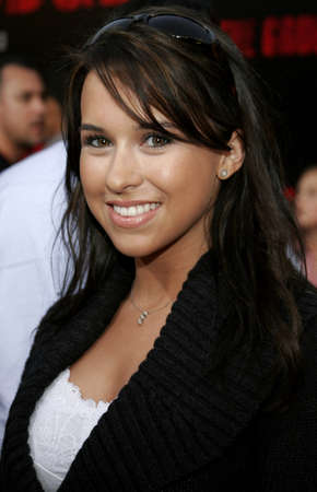 Lacey Chabert at the World premiere of The Grudge 2 held at the Knotts Berry Farm in Buena Park, USA on October 8, 2006.