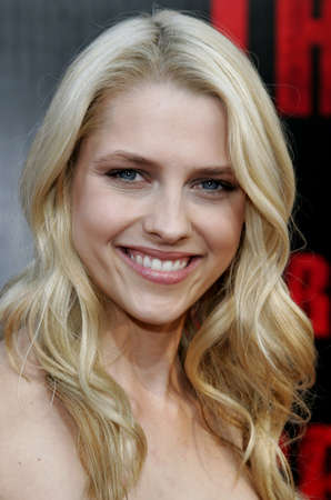 Teresa Palmer at the World premiere of The Grudge 2 held at the Knotts Berry Farm in Buena Park, USA on October 8, 2006.