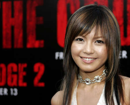Misako Uno at the World premiere of The Grudge 2 held at the Knotts Berry Farm in Buena Park, USA on October 8, 2006. Editorial