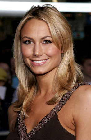 Stacy Keibler at the Walt Disneys World premiere of The Shaggy Dog held at the El Capitan Theatre in Hollywood, USA on March 7, 2006.
