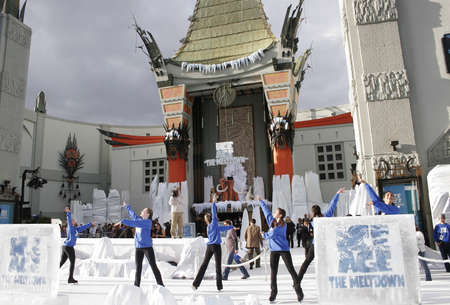World premiere of 'Ice Age 2: The Meltdown' held at the Grauman's Chinese Theater in Hollywood, USA on March 19, 2006.