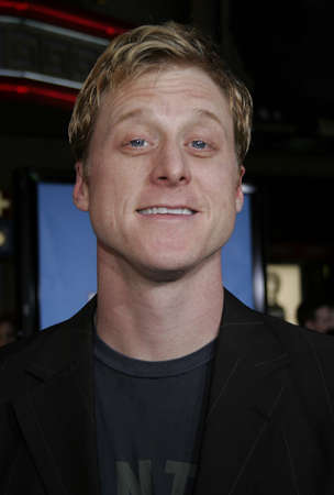 Alan Tudyk at the World premiere of Ice Age 2: The Meltdown held at the Graumans Chinese Theater in Hollywood, USA on March 19, 2006. Editöryel