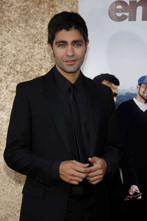 Adrian Grenier at the HBOs Entourage Season 7 Premiere held at the Paramount Studios lot in Hollywood, USA on June 16, 2010.