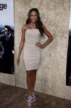 Dania Ramirez at the HBOs Entourage Season 7 Premiere held at the Paramount Studios lot in Hollywood, USA on June 16, 2010.