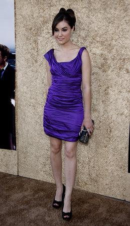 Sasha Grey at the HBO's 'Entourage' Season 7 Premiere held at the Paramount Studios lot in Hollywood, USA on June 16, 2010.
