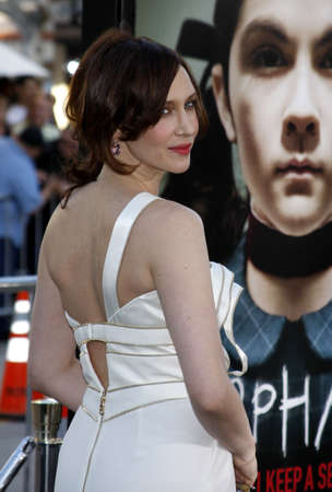Vera Farmiga at the Los Angeles premiere of Orphan held at the Mann Village Theater in Westwood, California, United States on July 21, 2009.