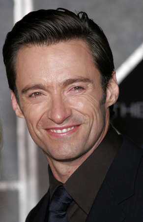 Hugh Jackman at the World premiere of The Prestige held at the El Capitan Theatre in Hollywood, California, United States on October 17, 2006. Editorial