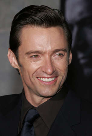 hugh: Hugh Jackman at the World premiere of The Prestige held at the El Capitan Theatre in Hollywood, California, United States on October 17, 2006. Editorial