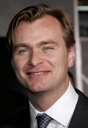 Christopher Nolan at the World premiere of The Prestige held at the El Capitan Theatre in Hollywood, California, United States on October 17, 2006.