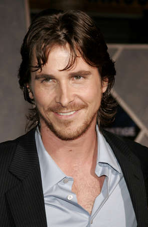 Christian Bale at the World premiere of The Prestige held at the El Capitan Theatre in Hollywood, USA on October 17, 2006.