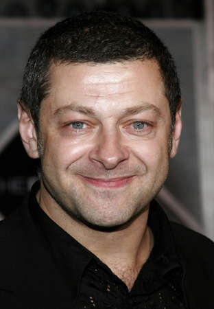 Andy Serkis at the World premiere of The Prestige held at the El Capitan Theatre in Hollywood, California, United States on October 17, 2006.