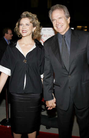 Warren Beatty and Annette Bening at the World premiere of Running with Scissors held at the Academy of Motion Picture Arts and Sciences in Beverly Hills, USA on October 10, 2006. Editorial