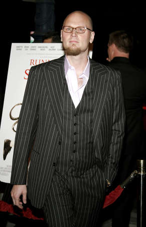 Augusten Burroughs at the World premiere of Running with Scissors held at the Academy of Motion Picture Arts and Sciences in Beverly Hills, California, United States on October 10, 2006.