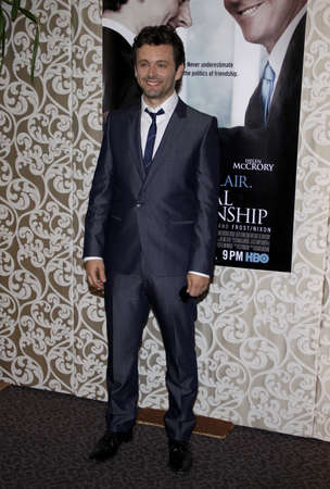 guild: Michael Sheen at the Los Angeles premiere of The Special Relationship held at the Directors Guild of America in Hollywood, California, United States on May 19, 2010.
