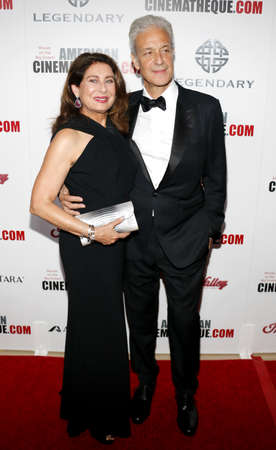 to paula: Rick Nicita and Paula Wagner at the 30th Annual American Cinematheque Awards Gala held at the Beverly Hilton Hotel in Beverly Hills, USA on October 14, 2016. Editorial